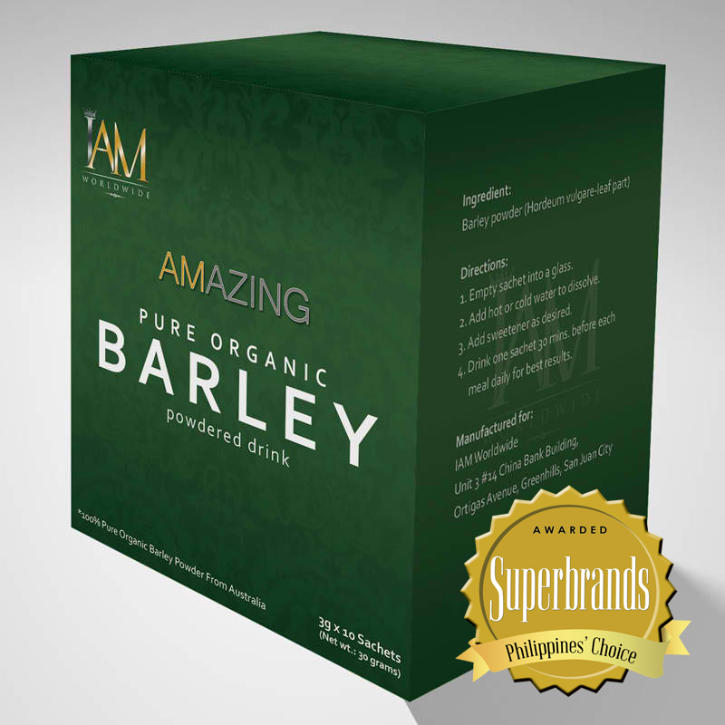 Amazing Pure Organic Barley Powdered Drink Iam Worldwide