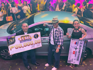 Mr. Carlo Boyero of Bacolod City won a 2019 Honda City during the IAM Worldwide 2nd Vic2ry Anniversary. John Lindogan, a jail officer in Negros also won the Amazing 45-day Challenge (₱50,000 price) slimming down from 195 lbs to 145 lbs in just 45 days. Congratulations!